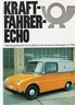"""""Kraftfahrer Echo 1968""""