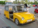 """Its official name was Volkswagen Type 147 Kleinlieferwagen (small van) but due to its funny and badly proportioned shape it was affectionately called ""Fridolin"". From 1964 to July 1974, 6139 were produced.